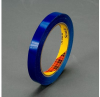 3M Scotch 690 Blue Color Coding Bag/Packaging Tape - 12 mm Width x 66 m Length - 2.3 mil Thick - 61637 -- 021200-61637