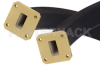 WR-75 Twistable Flexible Waveguide 12 Inch, Square Cover Flange Operating From 10 GHz to 15 GHz -- PE-W75TF005-12 -Image