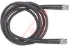 Cable Assy; 12 in.; 23 AWG; RG59B/U; Non Booted; Black Jacket; UL Listed -- 70197924 - Image