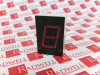LED DISPLAY SEVEN-SEGMENT NUMERIC 1CHARACTER RED -- 50827750