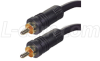 RG59A Coaxial Cable, RCA Male / Male, 3.0 ft -- CC59A-RR-3