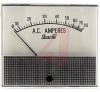 Ammeter, Electromechanical AC; 80 A; + 5%; 3.5 in.; Polystyrene; 750 Series -- 70136682
