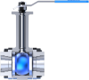 Cryogenic Ball Valves -- Pressure Class 1500 PSI/WOG -- View Larger Image