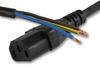 VOLEX - X-152578A - POWER CORD, IEC SOCKET, 3.5M, 10A, BLACK -- 236788