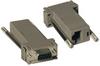 Null Modem Serial DB9 Serial Modular Adapter Kit, 2x (DB9F to RJ45F) -- P450-000 -- View Larger Image