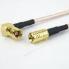 SMB Plug to RA SMB Plug Cable RG316 Coax in 24 Inch -- FMC1626316-24 -Image