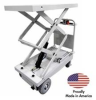 Pony Express Light Duty Motorized Scissor-Lift Carts -- HSC-1000-45 -Image