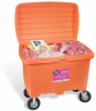 PIG HazMat Spill Kit in High-Visibility Storage Chest -- KIT380