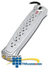 APC Essential Audio/Video 7 Outlet Coax Surge Protector -- P7V - Image