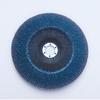 3M 546D Type 27 Coated Alumina Zirconia Flap Disc - 120 Grit - 7 in Diameter - 28919 -- 051115-28919 - Image