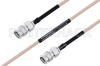 MIL-DTL-17 SMA Male to SMA Male Cable 30 Inch Length Using M17/113-RG316 Coax -- PE3M0090-30 -Image