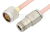 N Male to N Female Cable 60 Inch Length Using RG401 Coax, RoHS -- PE3979LF-60 -Image