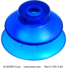 Molded Vinyl Suction Cup -- V-B1.5-50 - Image