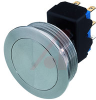 19MM DPDT MSM PUSHBUTTON SWITCH, BLUE RING ILLUMINATION -- 70020864 - Image