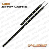 6K WHITE/AMBER TYPE 1 LED Strip Light 28 LED 14 inch -- STRIP_14_WA1_6K