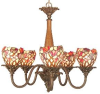 TH50114 Mid. Chandeliers-Glass Up -- 425341