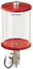Red Color Key, Clear View Full Flow Electro Dispenser, 1/2 gal Acrylic Reservoir, 120V/60Hz -- B5164-064AB1206RW -- View Larger Image