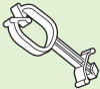 Stand Off Harness Clip -- Stand Off Harness Clip
