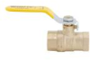 Lead Free* 2-Piece, Full Port, Brass Ball Valve -- LFFBV-4B, LFFBVS-4B