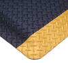 SR (Slip-Resistant) Diamond-Plate No. 418; 4' Cut up to 75'; Black w/Yellow Borders -- 715411-62783