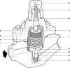 Bimetallic Steam Trap -- HP80