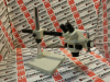MICROSCOPE BINOCULAR BOOM STAND WF10X EYEPIECE -- 3061 - Image