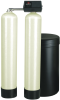 Meter Demand Twin Alternating Water Softeners for Hardness Reduction -- PWS10T (1-2 Cu. Ft.) - Image
