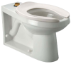 Z5636-BWL EcoVantage® HET Floor-mounted Toilet with Integral Bedpan Lugs -- Z5636-BWL -- View Larger Image