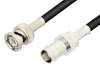 BNC Male to BNC Female Cable 60 Inch Length Using RG58 Coax -- PE3047-60 -Image