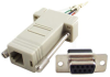 9 Pin Female RJ11/12 D-Sub Modular Adapter -- 85-217