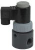 Plast-O-Matic PTFE Bellows Thermoplastic Solenoid Valves -- 88406 -- View Larger Image