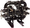 Non-Clog Wastewater Diaphragm Pumps -- Air Operated -- View Larger Image
