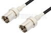 GR874 Sexless to GR874 Sexless Cable 12 Inch Length Using RG58 Coax, RoHS -- PE3211LF-12 -Image