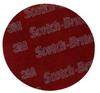 3M Scotch-Brite 7447 Pro Non-Woven A/O Aluminum Oxide AO Fiber Disc - Very Fine Grade - 5 in Diameter - 64959 -- 048011-64959 - Image