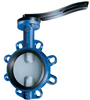 Butterfly Valve Straight Through Form With Elongated Eyelet Connections -- ARI-ZIVA G®