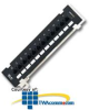 Express Cables 12 Port Patch Panel CAT 5e on Bracket -- C7905