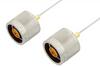 N Male to N Male Cable 36 Inch Length Using PE-SR047AL Coax -- PE34144LF-36 -Image