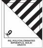 PCB Hazard Class 9 Hazardous Material Shipping Roll Labels -- SGN677
