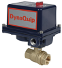Electrically Actuated 2 PC Brass Valve -- EHH Series - Image