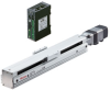 Linear Actuator (Slide) - Straight Type, X-axis Table with Built-in Controller (Stored Data) -- EAS4X-D010-ARMKD-3 -Image