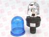 EUCHNER 88551075 ( ROTATING MIRROR BEACON, RM, 24 VAC / VDC, BLUE,TUBE MOUNTING,SCREW TERMINAL CONNECTION ) -Image