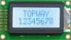8x2 Character Display Module -- LMB0820CDC-1 - Image