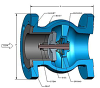 DFT® GLC® Flanged Check Valves - Image