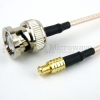 MCX Plug to BNC Male Cable RG-316 Coax in 60 Inch -- FMC0708316-60 -Image