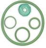 O-Ring Kit, Viton -- 2MCY9