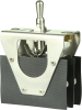 MICRO SWITCH AT Series Toggle Switch, 4 pole, 2 position, Screw terminal, Standard Lever -- 4AT6 -Image