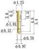 Small Size Socket Pin -- N54355-GG -- View Larger Image