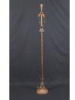 Brass & Iron Floor Lamp with Original Finish -- 41121WS - Image