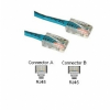 Cables To Go 14-Foot Cat5e Assembled Patch Cable, Blue -- 22697