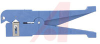 Coax Stripper; 1/4-9/16 in OD; incl 3 straight & 1 round blade; blade pt#L-9226 -- 70225340 - Image